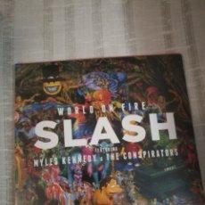 CDs de Música: SLASH (GUNS N ROSES) FEATURING MYLES KENNEDY AND THE CONSPIRATORS - WORLD ON FIRE .PRECINTADO!. Lote 178988566