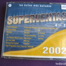 CDs de Música: SUPERVENTAS 2002 CUATRO CDS VALE MUSIC - ELECTRONICA HOUSE LATIN DISCO MAKINA - SIN APENAS USO. Lote 178992378