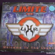 CDs de Música: CHUMI DJ – LIMITE VOL. IV - WELCOME TO THE LEGEND TRIPLE CD BIT MUSIC 2000 - HARD HOUSE ELECTRONICA. Lote 178992456