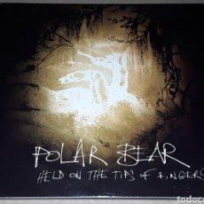 CDs de Música: CD - POLAR BEAR - HELD ON THE TIPS OF FINGERS - DIGIPACK - POLAR BEAR. Lote 178998867