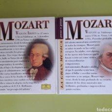 CDs de Música: MOZART LA GRAN MÚSICA PASÓ A PASO CD DISCOLIBRO BIOGRÁFICO 2011 DEUTSCHE GRAMMOPHON POLYGRAM. Lote 179007611