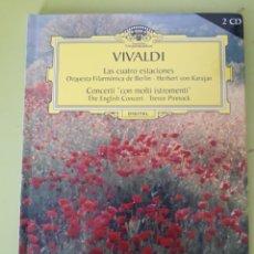 CDs de Música: VIVALDI GRAN SELECCIÓN DEUTSCHE GRAMMOPHON CD LIBRO. Lote 179011628