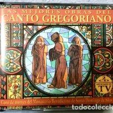CDs de Música: CD CANTOS GREGORIANOS DOBLE CD HITS. Lote 179014630