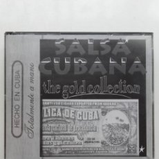 CDs de Música: SALSA CUBANA. THE GOLD COLLECTION - 2 CD. Lote 179016152