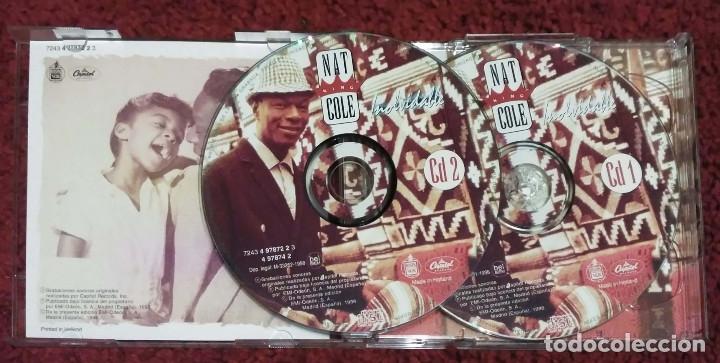 CDs de Música: NAT KING COLE (INOLVIDABLE - CANTA EN ESPAÑOL) 2 CDs 1998 - Foto 3 - 179016321