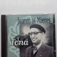 CDs de Música: JUANIN DE MIERES - TONA - TONADA. CANCIONES ASTURIANAS - CD. Lote 179016816