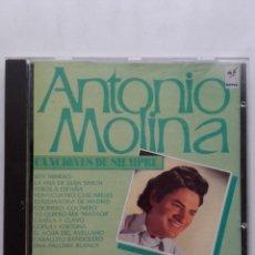 CDs de Música: ANTONIO MOLINA. CANCIONES DE SIEMPRE - CD. Lote 179017123