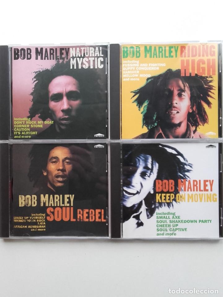 BOB MARLEY - REGGAE - 4 CD (Música - CD's Reggae)