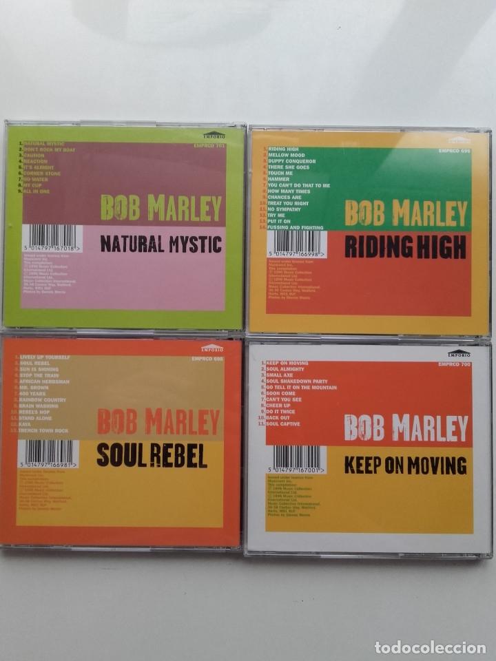 CDs de Música: BOB MARLEY - REGGAE - 4 CD - Foto 2 - 179017563