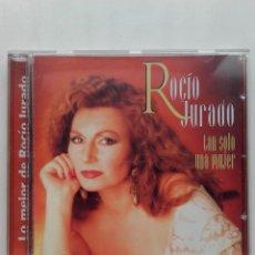 CDs de Música: LO MEJOR DE ROCIO JURADO. TAN SOLO UNA MUJER - CD. Lote 179017715