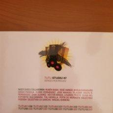 CDs de Música: CD RECOPILATORIO EN ASTURIANU. TUTU STUDIU 07. Lote 179025895