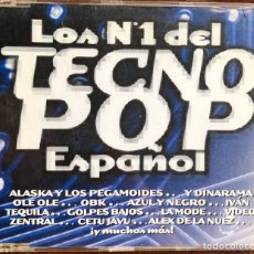 CDs de Música: CD SINGLE LOS N 1 DEL TECNO POP ESPAÑOL. Lote 179028912