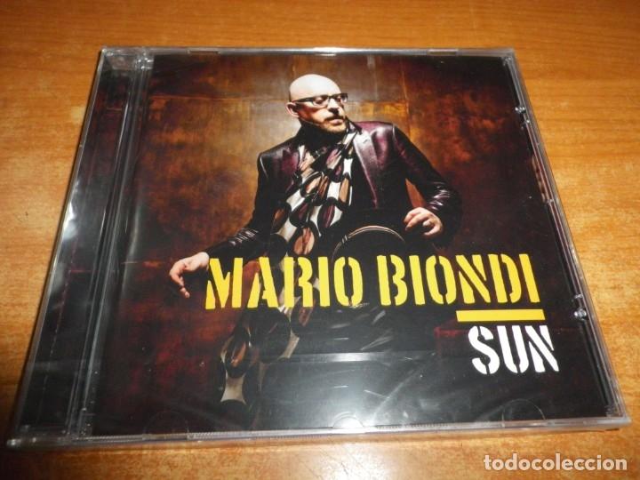 MARIO BIONDI SUN CD ALBUM PRECINTADO 2013 CHAKA KHAN OMAR JAMES TAYLOR LEON WARE AL JARREAU 15 TEMAS (Música - CD's Jazz, Blues, Soul y Gospel)