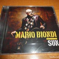 CDs de Música: MARIO BIONDI SUN CD ALBUM PRECINTADO 2013 CHAKA KHAN OMAR JAMES TAYLOR LEON WARE AL JARREAU 15 TEMAS. Lote 179029541