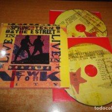 CDs de Música: BRUCE SPRINGSTEEN LIVE IN NEW YORK DOBLE CD DIGIPACK 2001 CONTIENE 29 TEMAS MUY RARO 2 CD. Lote 179033640