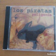 CDs de Música: LOS PIRATAS POLIGAMIA WARNER 1995. Lote 179040220