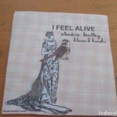 CDs de Música: ALONDRA BENTLEY KLAUS & KINSKI I FEEL ALIVE +2 DEMO MAQUETA. Lote 179047757