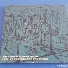 CDs de Música: CD / BEBO VALDES & JAVIER COLINA / LIVE AT THE VILLAGE VANGUARD 2007 EN DIGIPAK. Lote 179051248