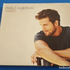 CDs de Música: CD + DVD / PABLO ALBORAN / TANTO 2012 EN DIGIPAK. Lote 179061982