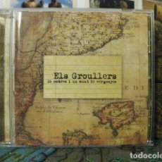 CDs de Música: 16 CABRES I UN MUNT DE VERGONYES (ELS GROULLERS) MÚSICA TRADICIONAL CATALANA. CATALUNYA. Lote 179062028
