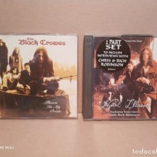 CD de Música: THE BLACK CROWES /DOS CDS ESPECIALES. Lote 179065973