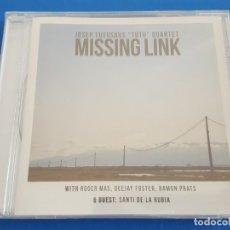CDs de Música: CD / JOSEP TUTUSAUS TUTU QUARTET / MISSING LINK 2014, NUEVO Y PRECINTADO SIN ABRIR. Lote 179068838
