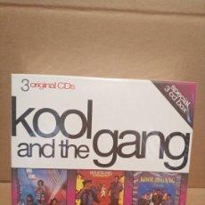 CDs de Música: KOOL AND THE GANG CAJA PRECINTADA 3 CDS. Lote 179069016