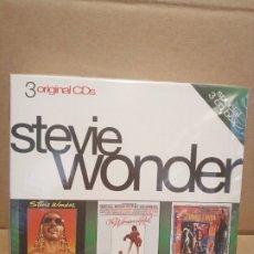CDs de Música: STEVIE WONDER CAJA ESPECIAL 3 CDS PRECINTADOS. Lote 179070162