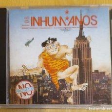 CDs de Música: LOS INHUMANOS (NO PROBLEM) CD 1990. Lote 179074648