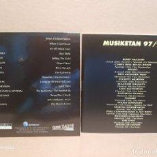 CDs de Música: MUSIKETAN 97-98 /GIRA PEQUEÑO FORMATO/ DISCO + LIBRETO. Lote 179075102