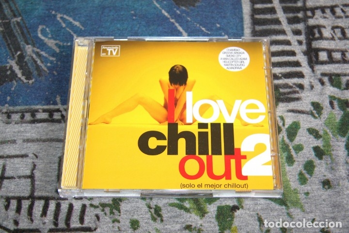 I LOVE CHILL OUT 2 - SÓLO EL MEJOR CHILL OUT - BLANCO Y NEGRO - MXCD 1706 (CB) - CTV - 2 CD'S (Música - CD's World Music)