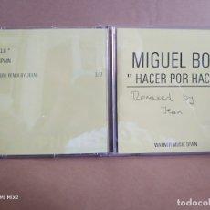 CDs de Música: MIGUEL BOSÉ HACER POR HACER TEST PRESSING RADIO. Lote 179084187