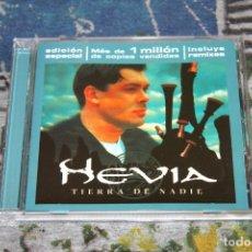 CDs de Música: HEVIA - TIERRA DE NADIE - EDICIÓN ESPECIAL - HISPAVOX - 7243 5 25482 2 4 - CD. Lote 179085112