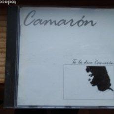 CDs de Música: CAMARÓN TE LO DICE CAMARÓN CD. Lote 179086191