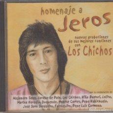 CDs de Música: HOMENAJE A JEROS CD 2001 LOS CHICHOS DUQUENDE ALEJANDRO SANZ JARABE DE PALO. Lote 179088112
