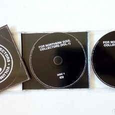 CDs de Música: 2 CD (50 TEMAS): FOR NORTHERN SOUL COLLECTORS VOL. 1 (EMI, 2012) - MOD, R&B, SOUL -. Lote 179088033