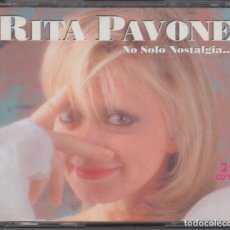 CDs de Música: RITA PAVONE DOBLE CD NO SOLO NOSTALGIA 1995. Lote 179089615