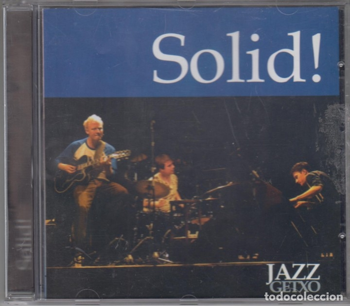 SOLID! CD JAZZ GETXO 2003 LIVE RECORDING (Música - CD's Jazz, Blues, Soul y Gospel)