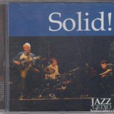 CDs de Música: SOLID! CD JAZZ GETXO 2003 LIVE RECORDING . Lote 179090663