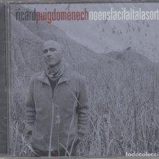 CDs de Música: RICARD PUIGDOMÉNECH CD NO ENS FACI FALTA LA SORT 2004 LOQUILLO PRECINTADO. Lote 179092556