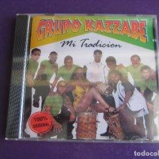 CDs de Música: GRUPO KAZZABE CD PRECINTADO 1998 - MI TRADICION - HONDURAS - CARIBE - MERENGUE - 12 TEMAS - . Lote 179092692