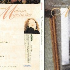 CDs de Música: MELISSA MANCHESTER - THE ESSENCE OF MELISSA MANCHESTER. Lote 179100800