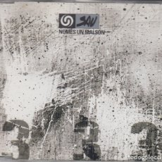 CDs de Música: SAU CD SINGLE NOMÉS UN MALSON 1998. Lote 179112182