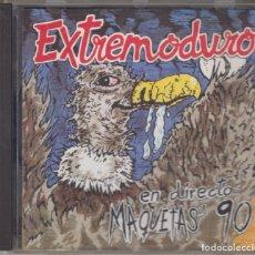 CDs de Música: EXTREMODURO CD EN DIRECTO MAQUETAS 90 1996. Lote 179112637