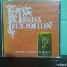 CDs de Música: CD MONJAS BENEDICTINAS REAL MONASTERIO BENIDICTINAS SAN PELAYO OVIEDO ASTURIAS. Lote 179114692