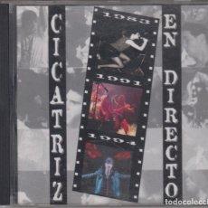 CDs de Música: CICATRIZ CD EN DIRECTO 1995. Lote 179114960