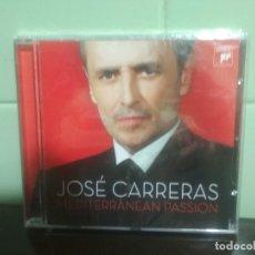 CDs de Música: JOSÉ CARRERAS - MEDITERRANEAN PASSION - CD ALBUM - 15 TRACKS - SONY CLASSICAL 2008. PRECINTADO. Lote 179114988