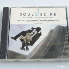 CDs de Música: SOUL DESIRE A COLLECTION OF 16 CLASSIC LOVE SONGS CD. Lote 179131497