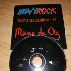 CDs de Música: MAGO DE OZ / CD SINGLE / MOLINOS DE VIENTO ACÚSTICA / FIESTA REFERENDUM 98 HEAVYROCK. Lote 179149788
