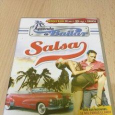 CDs de Música: APRENDE A BAILAR SALSA CD + DVD - PRECINTADO -. Lote 179154148